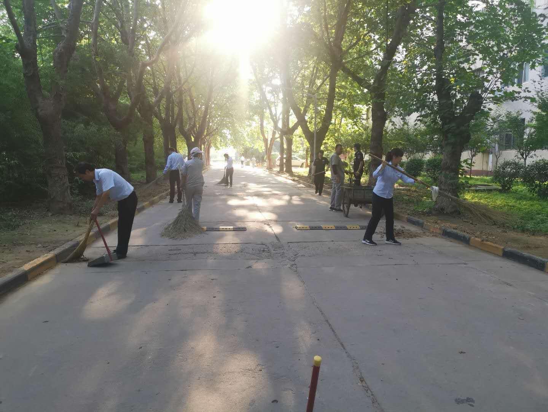 渭南高新区威楠公司:强组织重落实携手共创文明城